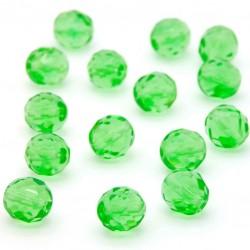 Broušené korálky - 10 mm - 5052 - Peridot zelený