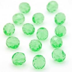 Broušené korálky - 10 mm - 5051 - Peridot zelený