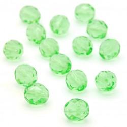 Broušené korálky - 10 mm - 5050 - Peridot zelený